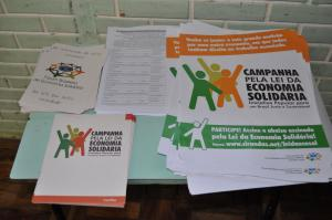 Participe da Campanha pela Lei da Economia Solidária