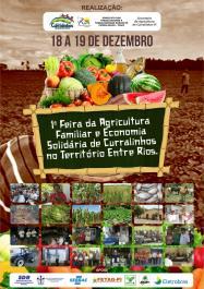 Curralinhos sedia I Feira da Agricultura Familiar e Economia Solidária