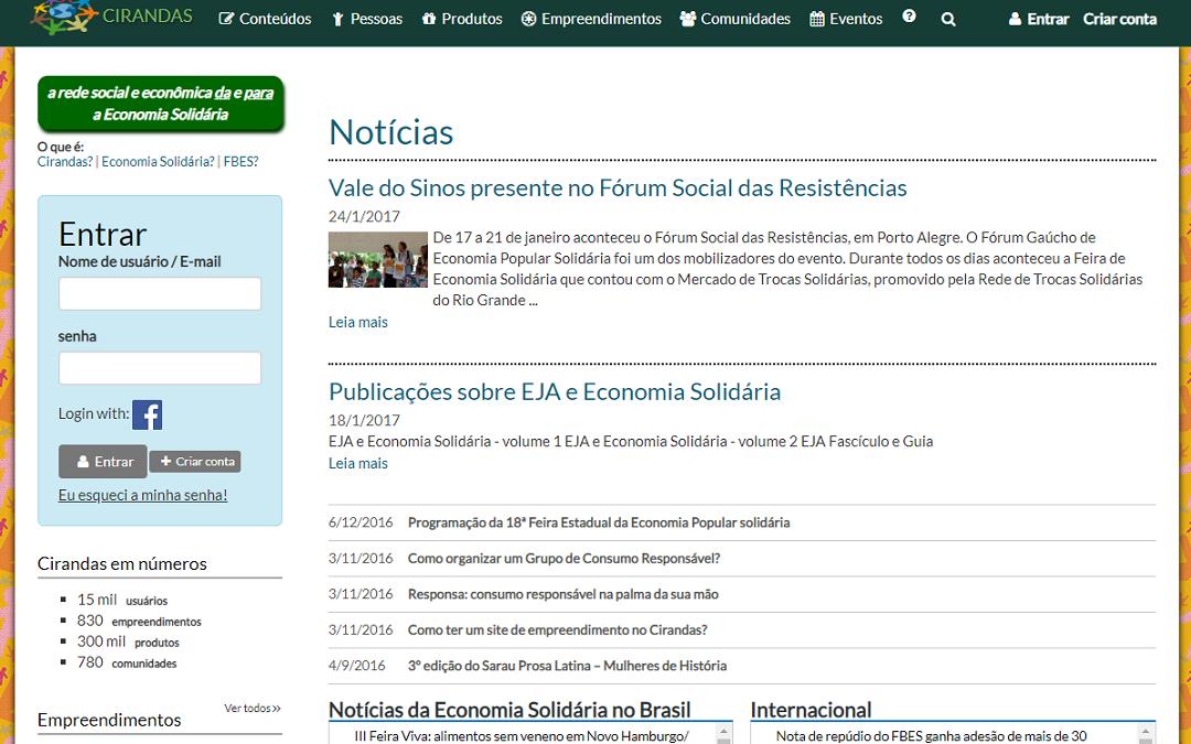 Webinar aborda novo plano de vida para o Cirandas.net